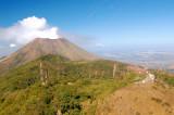 Summit Towers on Volcano Casita looking towards San Cristobal