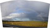 Appin road - morning rainbow