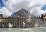 Musee du Louvre - Through the Pyramid #3