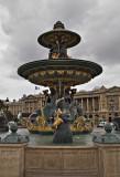 Fountain - Place de la Concorde
