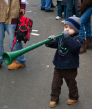 Boy with horn