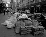NYC rubbish