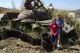 Tank at Quibala