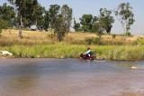 Wading Motorbike