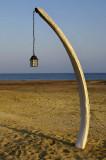 Whale Rib Streetlamp