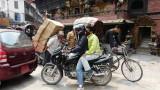 Kathmandu est très polluée...