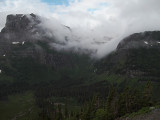 View From Going to the Sun Road