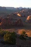 Formations at Hunts Mesa