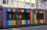 Technicolour tram