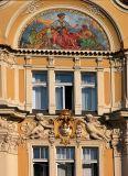Gold facade