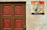 Door and coke