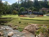 Botanical garden Chiang Mai Entrance