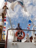 Mexican Tallship visits Curacao