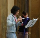Flutists in Siena