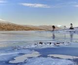 Blue Ice Loch Droma
