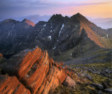 Sunset An Teallach Ridge