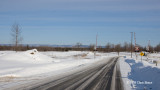 March Valley Road in Winter