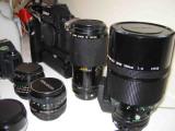 Canon AE1 SLR