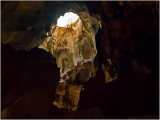 An Opening at the Top of the Hato Caves