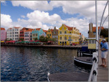 A View of Willemstad from the Queen Emma Bridge