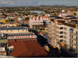 Downtown Oranjestad, Aruba, From the Deck of the Celebrity Galaxy Ship