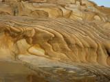 Striated Sandstone in Bouddi National Park