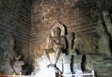 Dhyani Buddha Vairocana at Mendut Temple