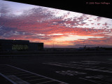Sunset from LAX