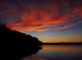 Sunset at Fresh Pond