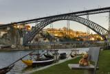 The D. Luis Bridge and River Douro