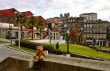A view of Porto from a nice square...