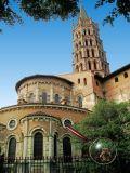 Cathedrale Saint-Sernin...et moi!
