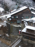 Our 100 year old ryokan at the entrance
