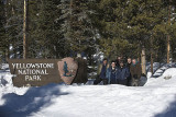 Yellowstone National Park in the Winter with Charles Glatzer,2008