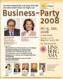 Einladung zur Business - Party 2008