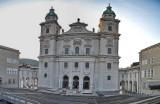 der Salzburger Dom wieder seine Ruhe
