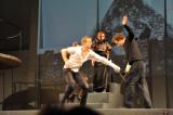 Duell zwischen Laertes (Martin Bermoser) und Hamlet