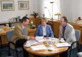 Diskussion im Direktorenzimmer