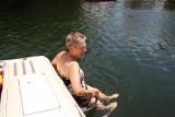 Karen Enjoying the Springs