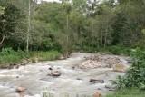 Rio Los Vados a la Orilla de la Ruta a la Laguna de Ayarza