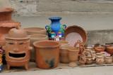 Venta de Ceramica en el Mercado Local