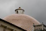 Detalle de la Cupula de la Igleasia Catolica