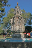 Famosa Fuente Colonial Ubicada en el Parque