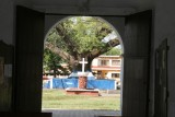 Vista Hacia el Parque Desde la Iglesia