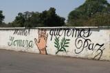 Mensaje de Paz en el Cementerio Local