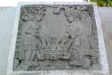 Detalle de Mural en Monumento