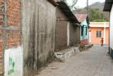 Pequeña Calle en el Centro Urbano