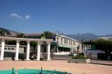Vista de la Municipalidad desde el Parque