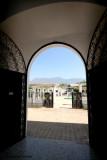 Vista Hacia el Parque Desde el Interior de la Iglesia