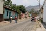 Calle de la Localidad Antes de que se Eliminara el Empedrado